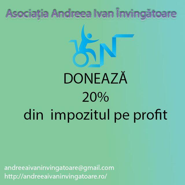 Sponsorizează 20%